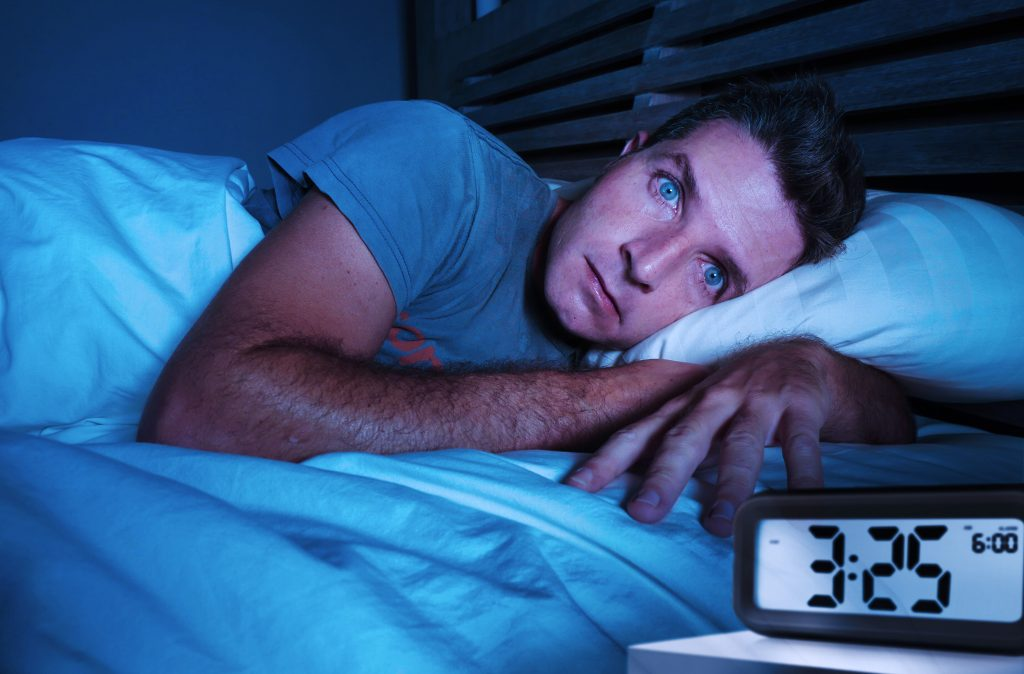 image illustrant l'insomnie